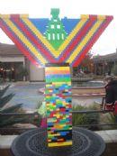 Lego Menorah Lighting 12/2009