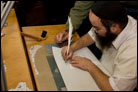 Ritual Scribe Brings Ancient Synagogue Back to Life