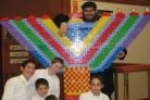 Lego Menorah Kindled in Canada