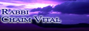 Rabbi Chaim Vital
