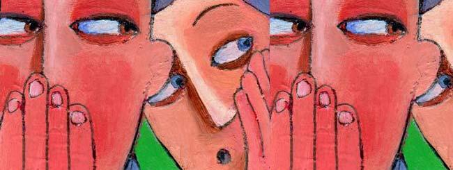Gedanken: Der Schwätzer und der Priester