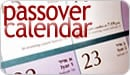 Passover Calendar
