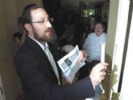 Mezuzah Ceremony, click here for picture