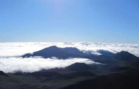 Above the clouds @ Haleakala…