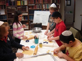 We have lots of fun in Hebrew school!