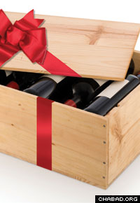 The Tucson raffle's grand prize is 101 bottles of kosher wine.