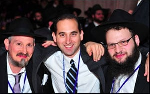 The 27th annual International Banquet of Chabad Lubavitch Emissaries.