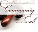 Community Torah Dedication