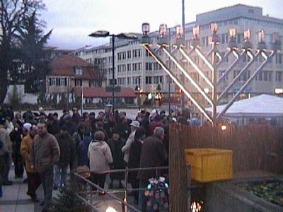 Offenbach germany public menorahs around the globe for Uni offenbach