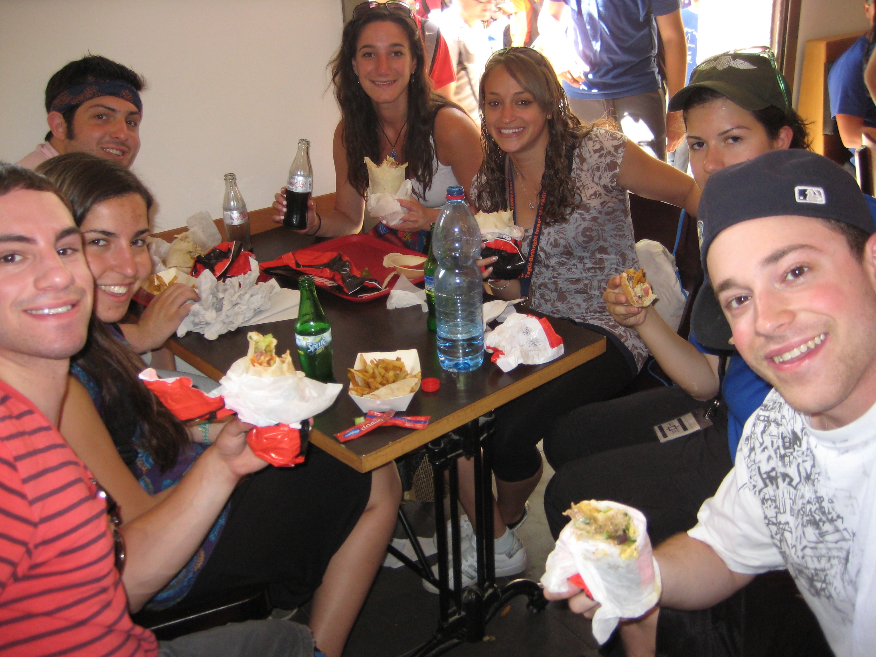 Shwarma in the Laffa