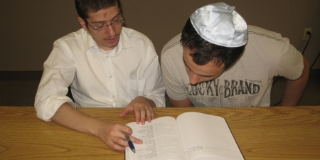 In-depth Torah study.