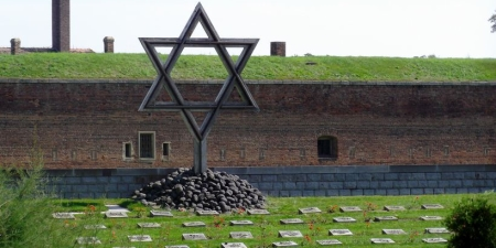 The Theresienstadt Jewish cemetery.