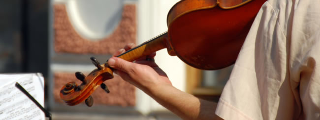 Еврейские праздники: Скрипач в метро