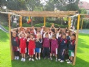 The traveling sukkah in the international schools
