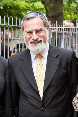 Chief Rabbi Lord Jonathan Sacks.