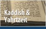 Kaddish & Yahrtzeit