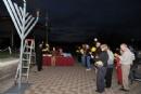World Gof Hall of Fame Menorah Lighting