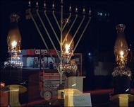 NEWSFLASH: Giant Menorah Lights Up Boise