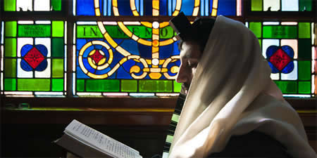 Rav Avi Richler, 29 ans, codirecteur de ''Chabad of Gloucester County, NJ'' - Photo: Yanky Ascher