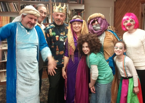 Dress up in costume for Purim and celebrate with us!
