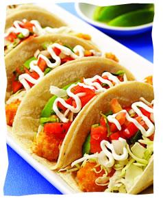 Baja fish tacos and chipotle mayonnaise kosher recipes for Fish taco sauce mayo