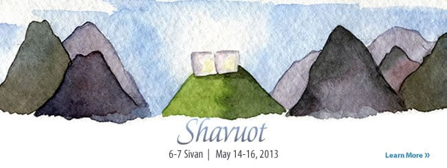 Holidays: Shavuot