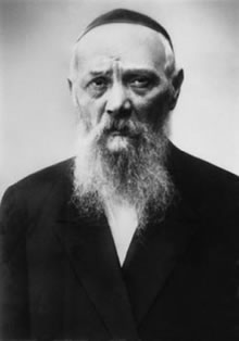 Rabbi Levi Yitzchak Schneerson (1878-1944)