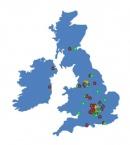 Locations in the UK hidden