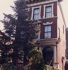 ביתם של הרבי והרבנית ברחוב פרזידנט שבברוקלין, ניו יורק.