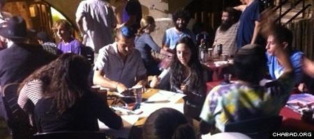 Participants of a Safed art-based workshop explore Jewish mysticism at Ascent.