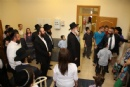 Экскурсия по детскому пансиону для главного раввина Израиля Йона Йехиэля Мецгера