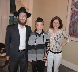 Connor's Bar Mitzvah