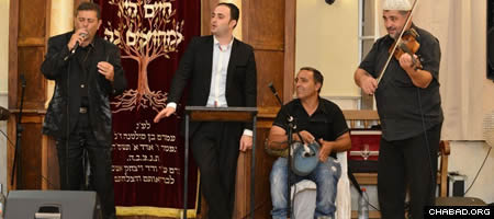 The grand opening of a newly-restored Tiberias synagogue attracted throngs of revelers to a musical-filled night just weeks before Rosh Hashanah.