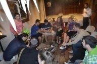 Smores in the Sukkah!