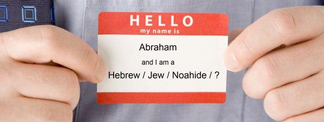 Parshah Focus: Was Abraham Jewish?