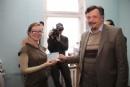 Вручение дипломов выпускникам Южноукраинского Еврейского университета