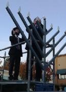THE REPORTER: Solano Jewish community marks Menorah on Main