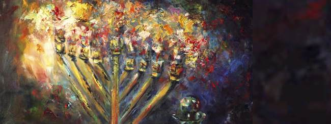 Art, Music & Poetry: Our Favorite Chanukah Painting