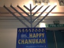 Menorah at The Harlequin