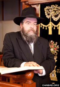 Rabbi Nachman Wilhelm.