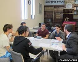 Classes on Jewish practice, mysticism and history.