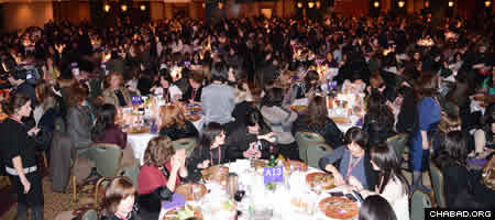 The women packed the gala dinner for a night of camaraderie and motivation, soaking up the strong sense of connection and holiness.