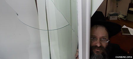 Rabbi Meir Kirsh, director of the Jewish Community Center of Chelyabinsk