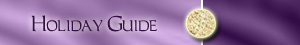 Holiday Guide (Purple)