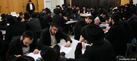 Extensive written exams were prepared for those who will visit rural Jewish communities.