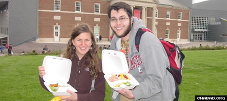 Students at the University of Cincinatti were provided with kosher-for-Passover meals for the holiday week.