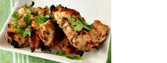 Kosher Recipes & Cooking: Indoor Grilling: Cilantro Chicken with Lime