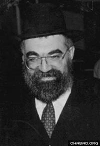 Rabbi Aryeh Leib Kaplan.
