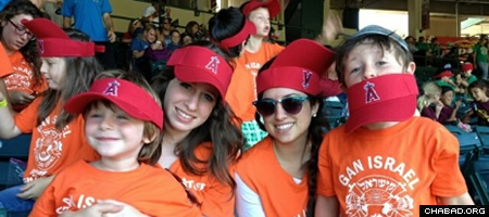 A day at the ballpark with Chabad's Gan Israel summer camp.