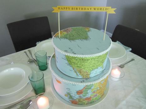 Happy Birthday World Setting A Rosh Hashanah Table